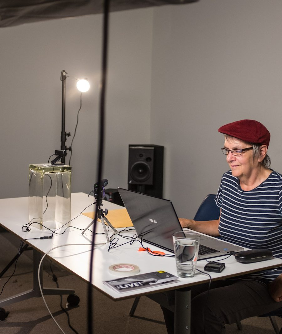 Margaret Dragu - VERB FRAU TV - Season 6: Desktop Performances at LIVE2017. Photo by Rennie Brown.