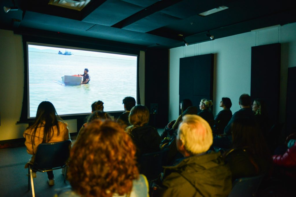 Jon Sasaki film screening at VIVO for LIVE 2019. Photo by Alisha Weng for VANDOCUMENT.