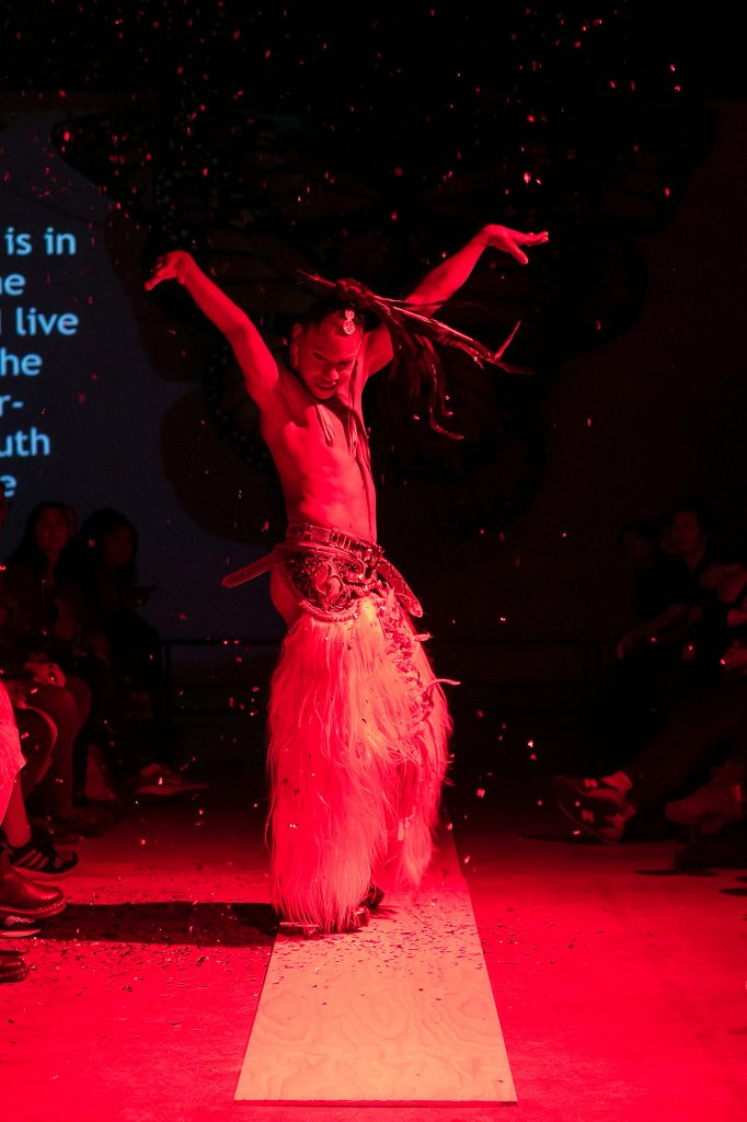 Lukas Avendaño performance at VIVO Media Arts. LIVE 2019. Photo by Ravi Gill.