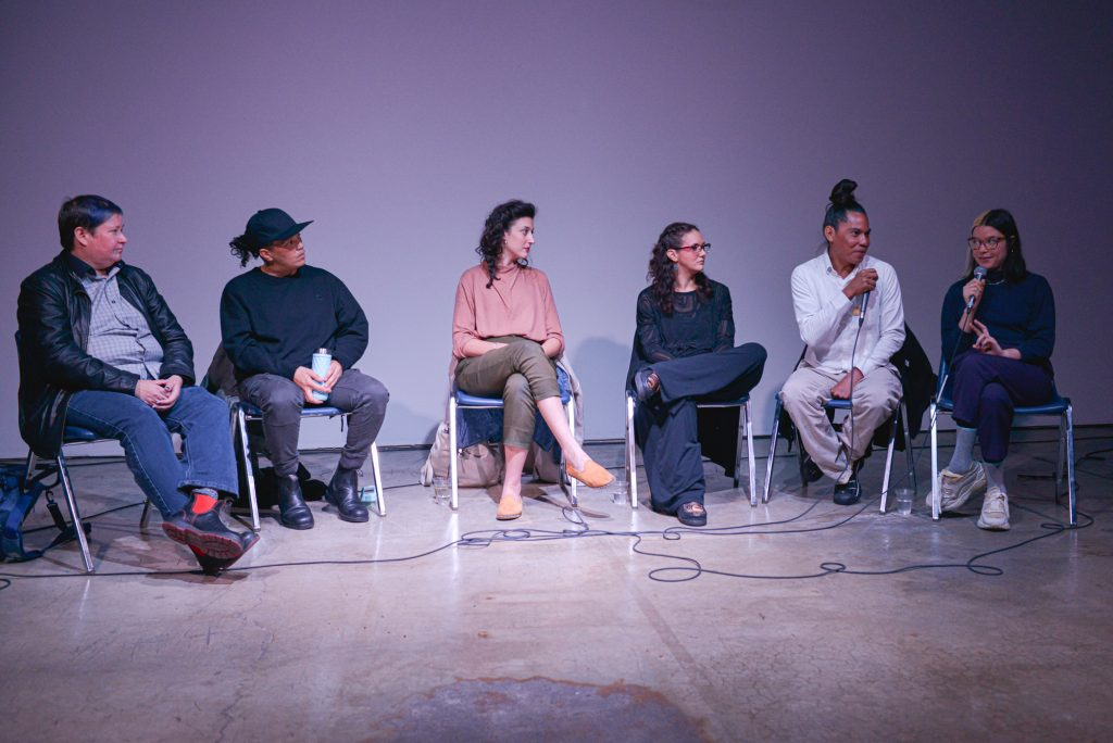Artist panel presented by SUM Gallery, LIVE 2019. Photo by Alisha Weng.